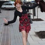 Евгения Шалаева - ученица, участница степ-компании Евгения Лагранского