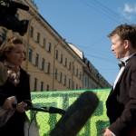 Интервью для телевидения с международного дня степа