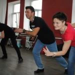 Трио учеников: Галина, Роман, Елена
